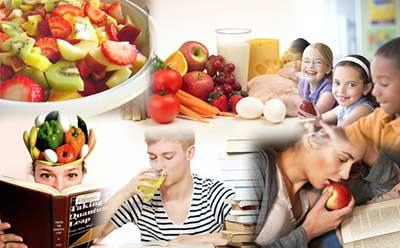 مواد غذایی که در فصل امتحانات مفید است