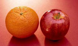 سیب و پرتقال کدام یک سالمتر است؟