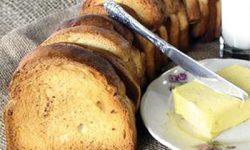 طرز تهیه نان سوخاری خانگی