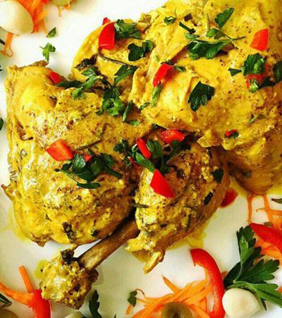 طرز تهیه مرغ مارینه یونانی