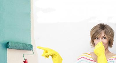 نحوه از بین بردن بوی رنگ در خانه