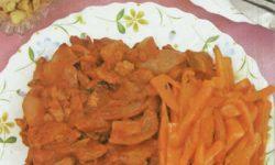 طرز تهیه چلو گوشت گیاهی با هویج