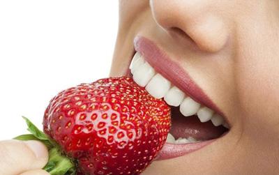 دندانهایی سفید با دستور غذایی!