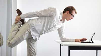 جلوگیری از اثرات منفی استرس کار زیاد با آمادگی جسمانی