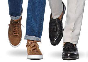 چگونه کفش و لباس را با هم ست کنیم؟